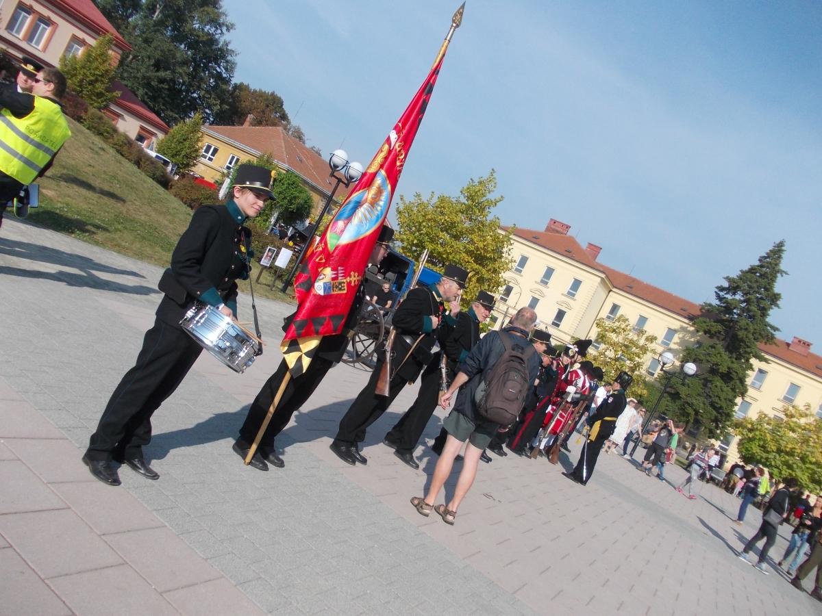 Den uniformovaných sborů - Kroměříž 2016